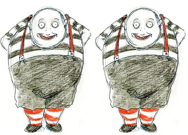 Tim Burton Style Drawings Alice In Wonderland