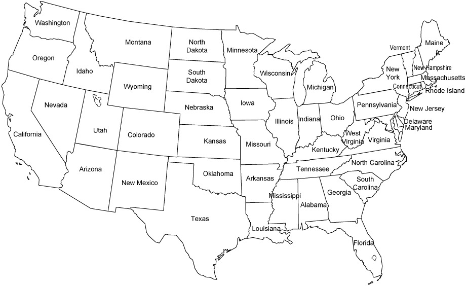 Us Map Games Name The States Maps Of USA Us Map Games Name The - Us map of states game