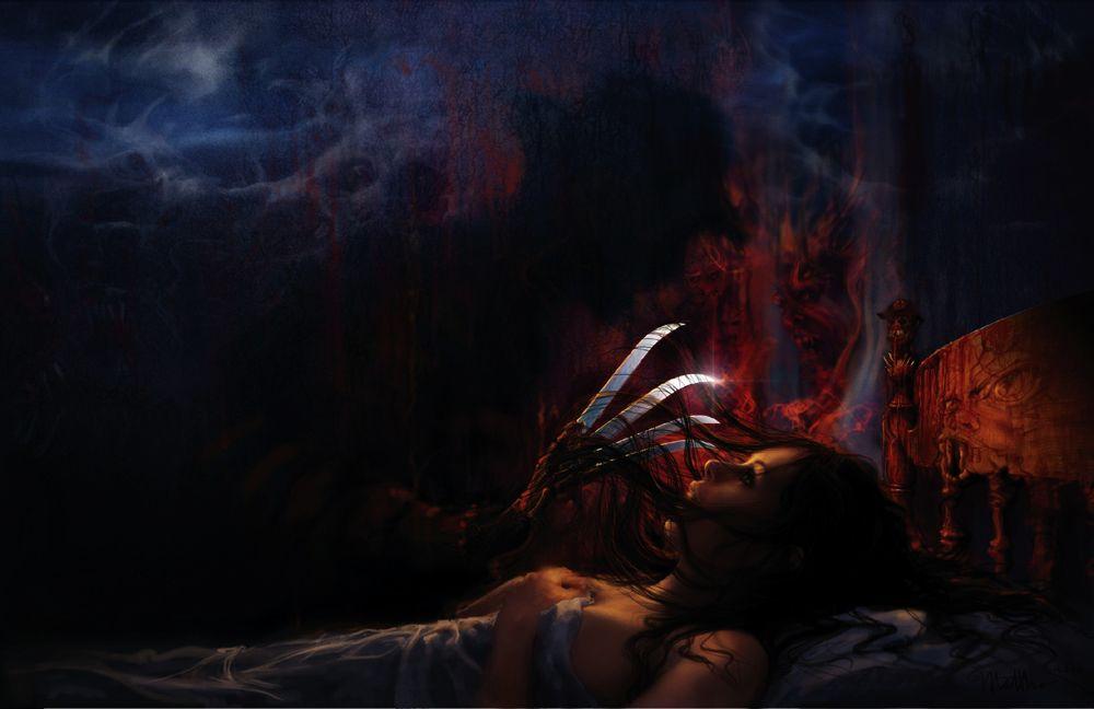 The Artwork Of A Nightmare On Elm Street