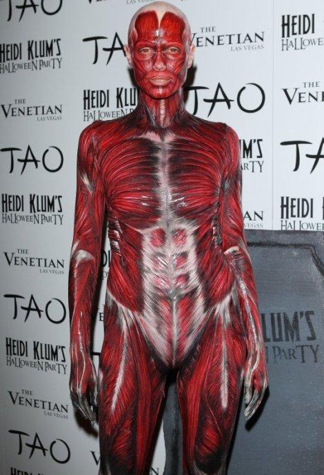 Heidi Klums 2011 Halloween Costume The Unravelling Of Al Cook