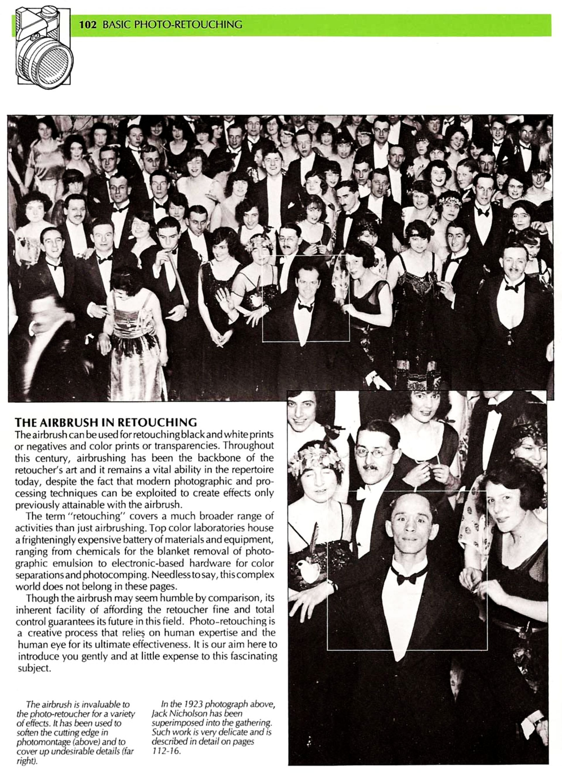 The Unaltered Ballroom Photo From The Shining The
