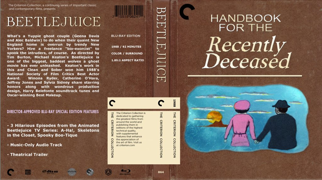 Printable Book Cover Handbook For The Recently Deceased : The criterion collection unravelling of al cook