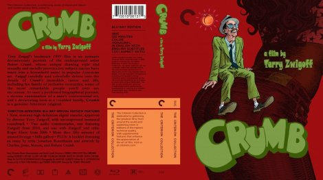 Crumb Blu Ray Cover