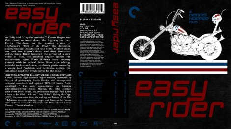 Easy Rider Blu Ray Cover
