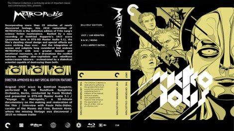 Metropolis Blu Ray Cover