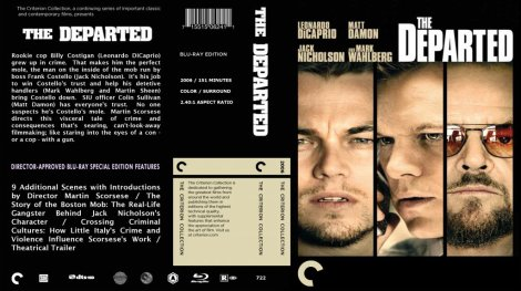 The Departed Blu Ray Cover