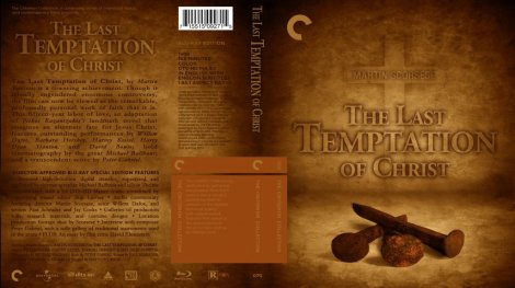 The Last Temptation Of Christ Blu Ray Cover