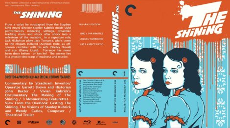 The Shining Blu Ray Cover