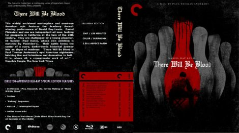 There Will Be Blood Blu Ray Cover