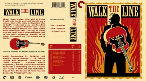 Walk The Line Blu Ray Cover