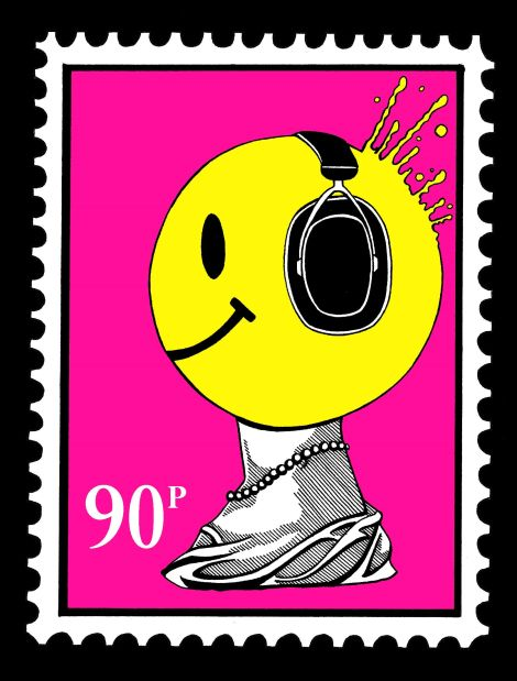 Al Cook This Is England. Postage Stamp Version.